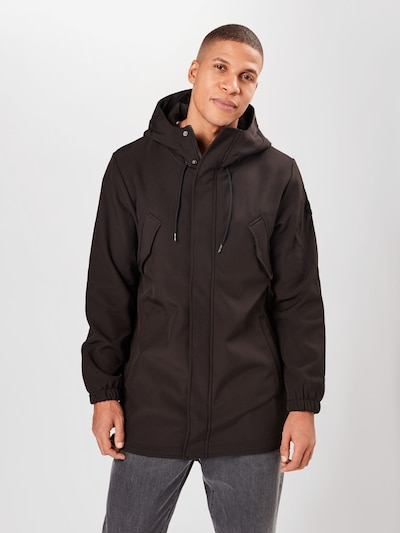 Only & Sons Parka 'ONSHALL' in dunkelbraun: Frontalansicht