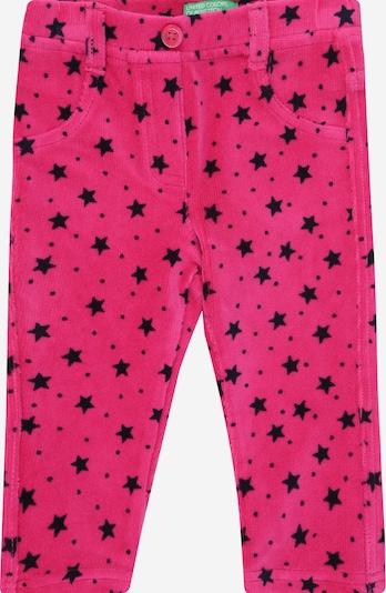 UNITED COLORS OF BENETTON Hose in pink / schwarz, Produktansicht