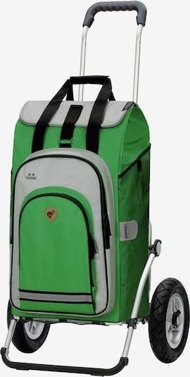 Andersen Shopper Einkaufstrolley  ' Hydro 2.0' in hellgrau / grün / schwarz, Produktansicht