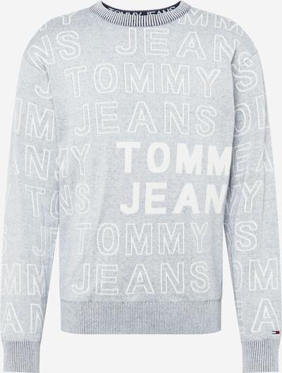 Tommy Jeans Sweatshirt in grau / weiß, Produktansicht