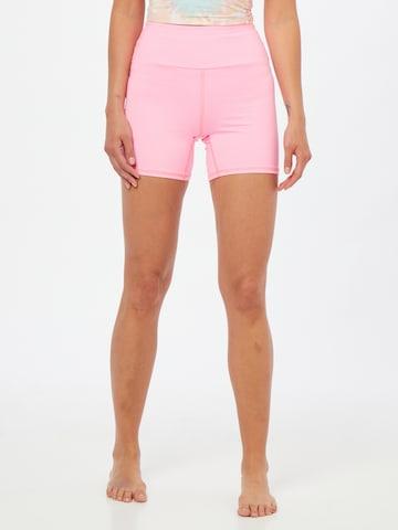 Hey Honey Spordipüksid, värv roosa