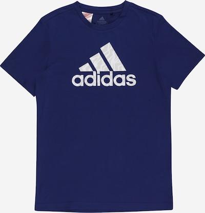 ADIDAS PERFORMANCE Functioneel shirt in de kleur Donkerblauw / Grijs / Wit, Productweergave
