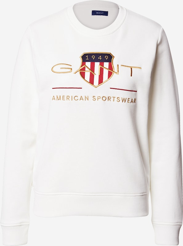 GANT Sweatshirt in Weiß | ABOUT YOU