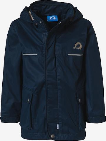 FINKID Winter Jacket 'LOKKIMAA' in Blue