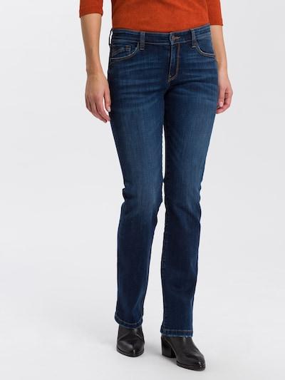 Cross Jeans Jeans ' Lauren ' in blue denim, Modelansicht
