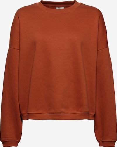EDC BY ESPRIT Sweatshirt in dunkelorange, Produktansicht
