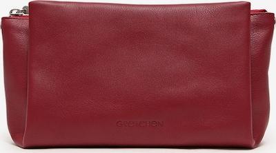 Gretchen Clutch 'Cassia' in rot, Produktansicht