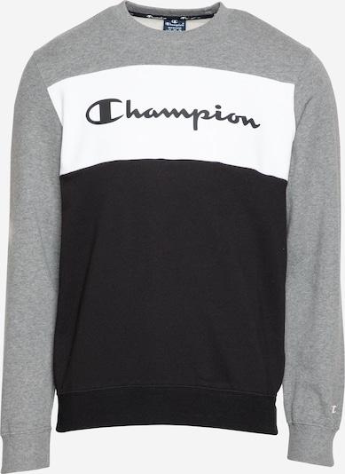 Champion Authentic Athletic Apparel Mikina - sivá melírovaná / čierna / biela, Produkt