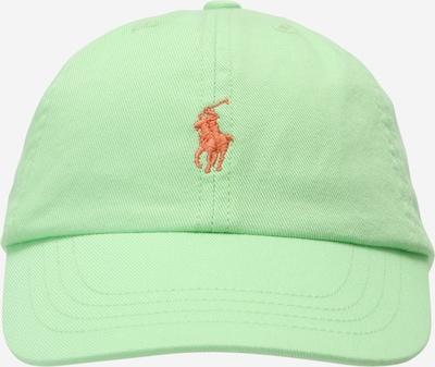 POLO RALPH LAUREN Cap in pastellgrün / rot, Produktansicht