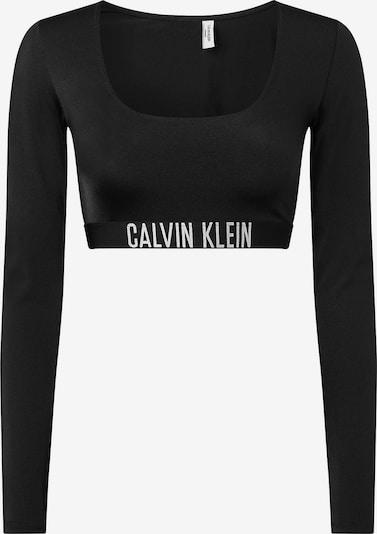 Bikinio viršutinė dalis 'Intense Power' iš Calvin Klein Swimwear, spalva – juoda / balta, Prekių apžvalga