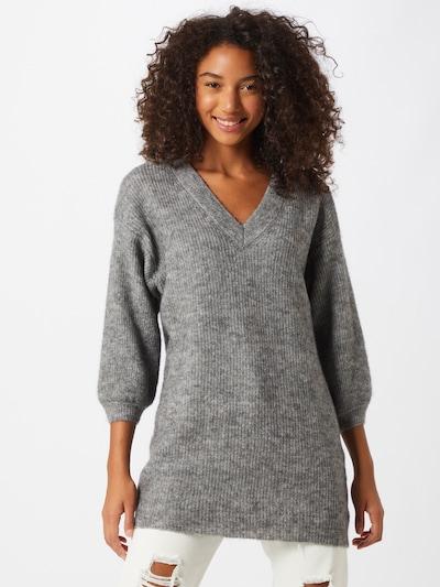 OBJECT Pullover in graumeliert, Modelansicht