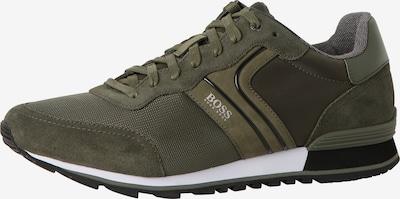Sneaker low 'Parkour' BOSS Casual pe kaki / negru / alb, Vizualizare produs
