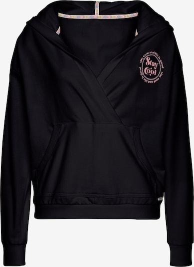 BUFFALO Sweatshirt in pink / schwarz, Produktansicht