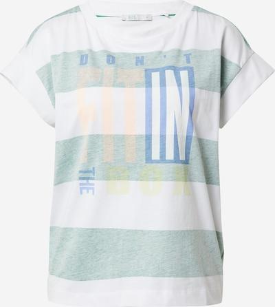 EDC BY ESPRIT Koszulka w kolorze niebieski / żółty / zielony / różany / białym, Podgląd produktu
