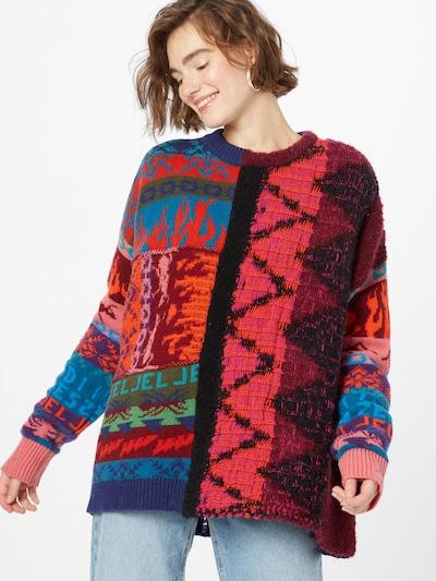 DIESEL Jersey talla grande 'VIVYAN' en mezcla de colores, Vista del modelo