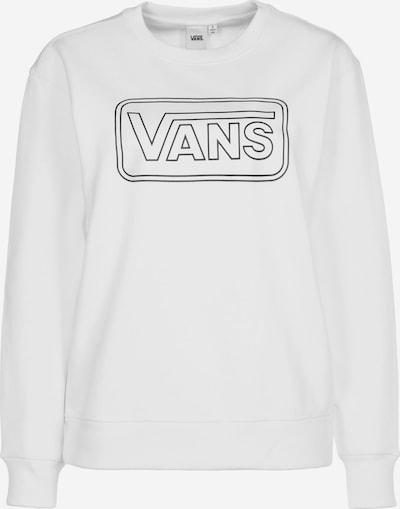 VANS Sweatshirt in de kleur Zwart / Wit: Vooraanzicht