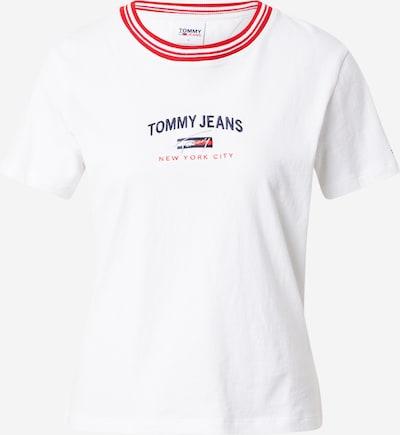 Tommy Jeans Tričko - tmavomodrá / červená / biela, Produkt