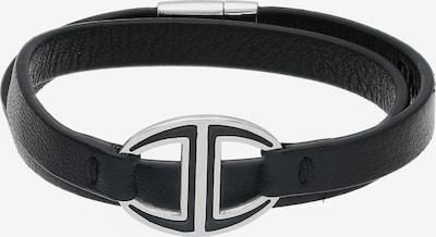 Davidoff Zino Armband Leder 40 cm in schwarz, Produktansicht