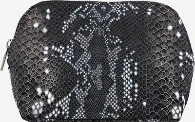 Amsterdam Cowboys Kulturbeutel in grau / schwarz, Produktansicht