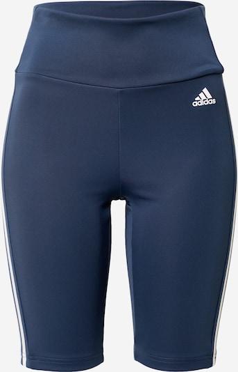 ADIDAS PERFORMANCE Sportovní kalhoty - tmavě modrá / bílá, Produkt
