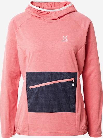 Haglöfs Sportsweatshirt 'Mirre' in dunkelblau / pink, Produktansicht