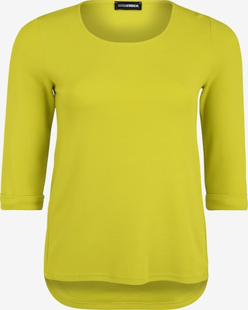Doris Streich Pullover mit Rundhalsausschnitt in Gelb