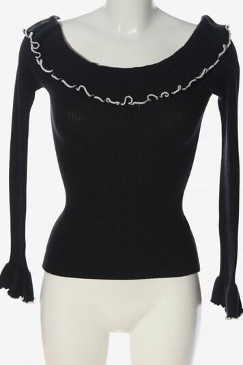 Fashion Union Strickpullover in S in schwarz, Produktansicht
