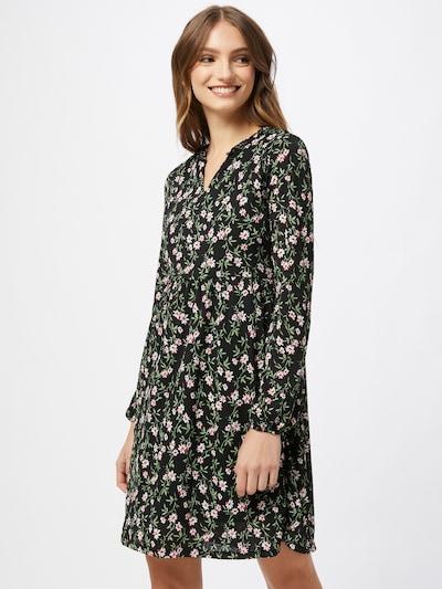 ONLY Kleid in hellgrün / pink / schwarz / weiß, Modelansicht