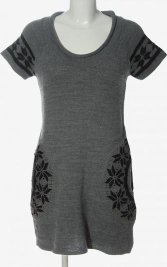 La Redoute Pulloverkleid in M in hellgrau / schwarz, Produktansicht