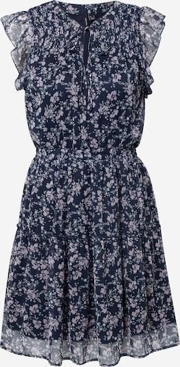 VERO MODA Kleid 'Liza' in nachtblau / pastellblau / flieder, Produktansicht