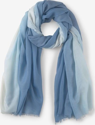 TOM TAILOR Sjaal in de kleur Blauw / Wit, Productweergave