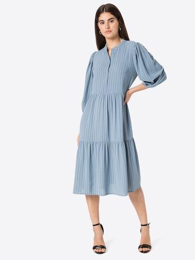 Love & Divine Košeľové šaty - dymovo modrá / čierna, Model/-ka