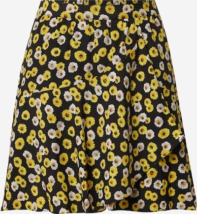 THE KOOPLES SPORT Rok in de kleur Geel / Zwart / Wit, Productweergave