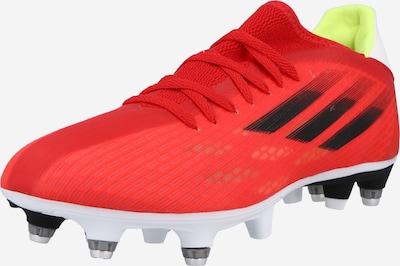ADIDAS PERFORMANCE Fußballschuh in rot / schwarz, Produktansicht