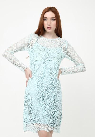 Madam-T Kleid 'Galeri' in hellblau, Modelansicht