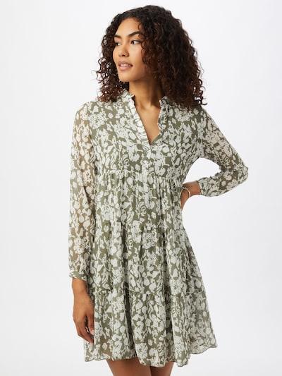 ZABAIONE Kleid 'Layla' in grün / weiß, Modelansicht