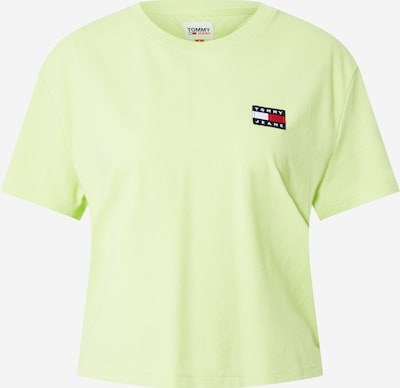 Tommy Jeans Tričko - námornícka modrá / svetlozelená / červená / biela, Produkt