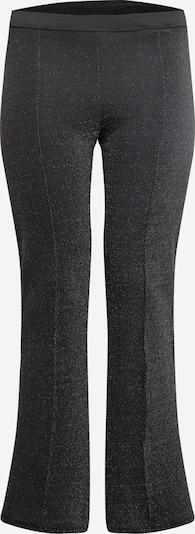 ONLY Carmakoma Hlače 'Meghan' | črna / srebrna barva, Prikaz izdelka