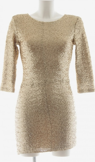 TFNC Abendkleid in M in gold, Produktansicht