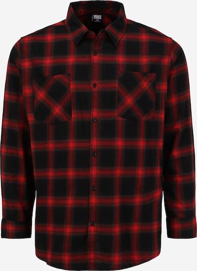 Urban Classics Big & Tall Koszula w kolorze czerwony / czarnym, Podgląd produktu