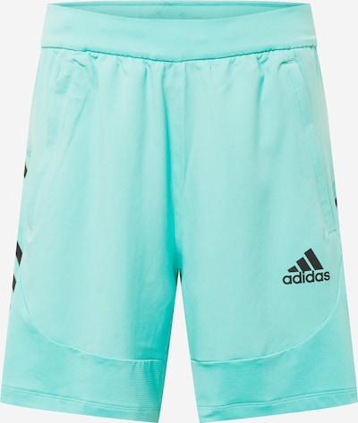 ADIDAS PERFORMANCE Spodnie sportowe w kolorze turkusowy / czarnym, Podgląd produktu