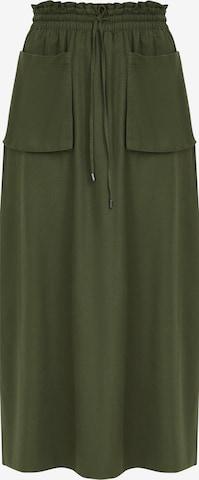 Finn Flare Maxirock in Green