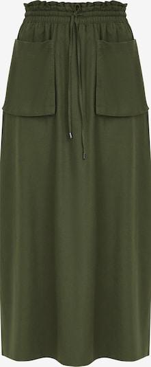 Finn Flare Maxirock in dunkelgrün, Produktansicht