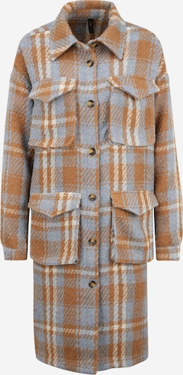 Y.A.S (Tall) Manteau mi-saison 'BILLY' en bleu fumé / marron / blanc, Vue avec produit