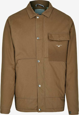 Cleptomanicx Jackets 'Coaches Coat' in Braun