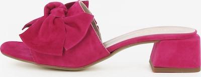 Gianluca Pisati Damen Pantolette Gloria in dunkelpink, Produktansicht
