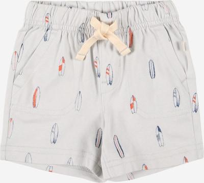 GAP Pantalon en bleu / gris clair / orange, Vue avec produit