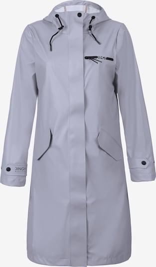 Dingy Rhythm Of The Rain Functionele mantel 'Belle' in de kleur Duifblauw / Zwart, Productweergave