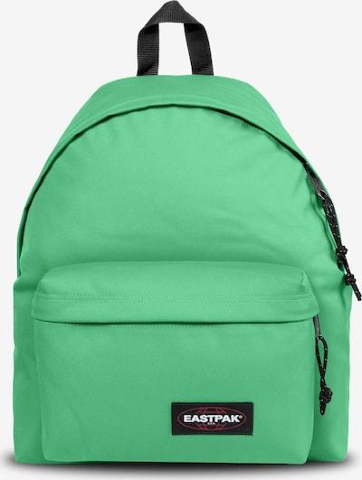 EASTPAK Sac à dos 'Padded Pak'r' en vert / rouge / noir / blanc, Vue avec produit